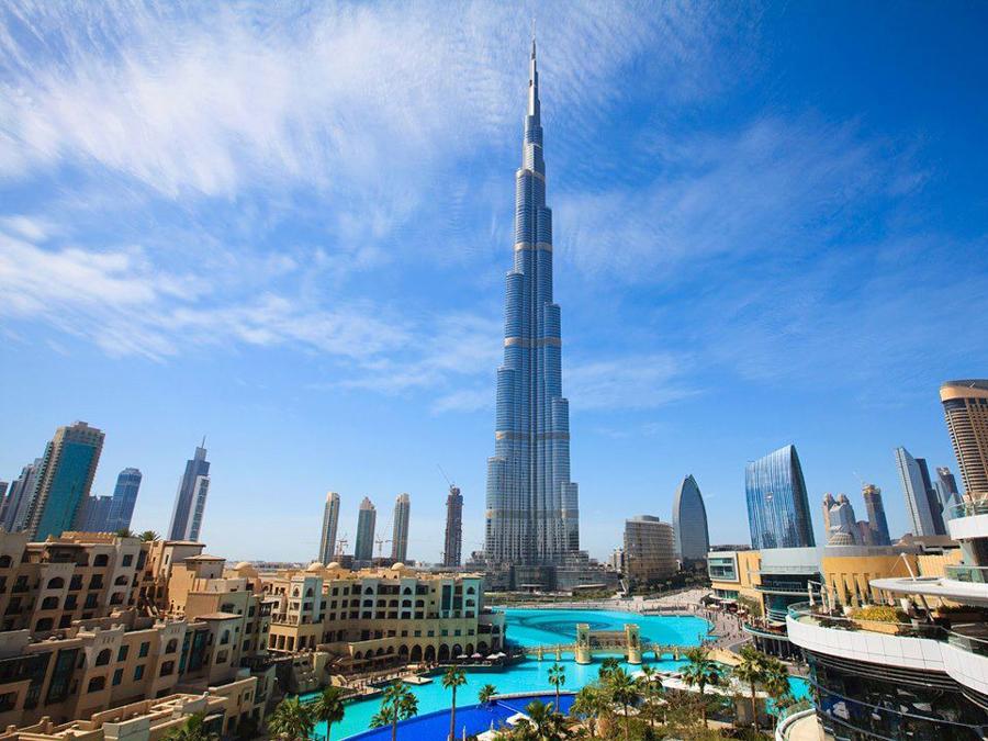 Что посмотреть в Дубай, Бурдж Халифа. Топ 10 мест для посещения в Дубай