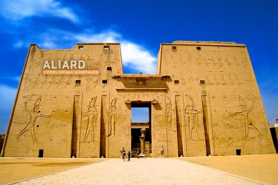 Знаменитый Храм Эдфу